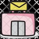 Post Office Trading Company Logistic Company Icon