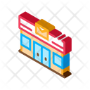 Airplane Application Box Icon
