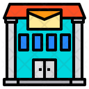 Post Office Mail Building Icon