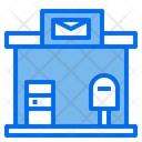 Post Office City Home Icon