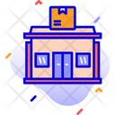 Post Office Building Letter Icon