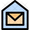 Post Office Mailbox Post Icon