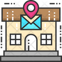 Post Office Post Cargo Office Icon