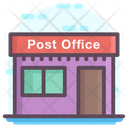 Post Office Building Icon