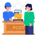 Post Office Counter Icon