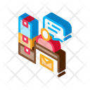 Delivery Post Cargo Icon