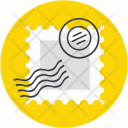 Stamp Post Ticket Icon