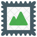 Postage Stamp Email Icon
