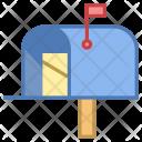 Postal Postbox Mailbox Icon