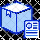 Postal Logistics Parcel Icon