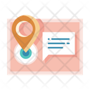 Postal Address Delivery Address Post Icon