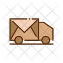 Postal Delivery Delivery Truck Shipping Truck Icon