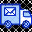 Postal Truck Postal Truck Icon