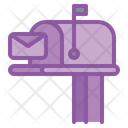 Postbox Letter Box Icon