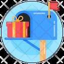 Mailbox Postbox Gift Icon