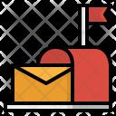 Postbox Mail Box Icon