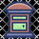 Postbox Letterbox Postage Icon