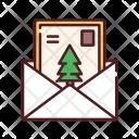 Postcard Invitation Mail Icon