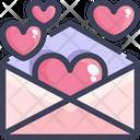 Postcard Love Letter Letter Icon