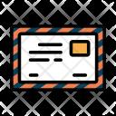 Postcard Letterhead Letter Icon