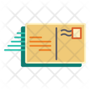 Postcard Airmail Letter Icon