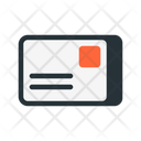 Postcard Mail Letter Icon