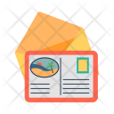Postcard Letter Post Icon
