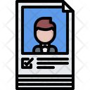 Poster Politician Candidate Icon