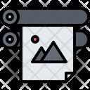 Poster Print Printer Icon