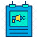 Poster Banner Marketing Icon