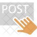Pointing Post Posting Icon