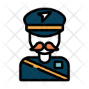 Postman Delivery Man Icon