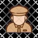 Postman Courier Boy Postal Boy Icon