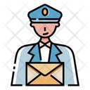 Post Man Post Delivery Man Icon