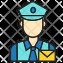 Avatar Man Postman Icon