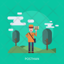 Postman Mail Post Icon