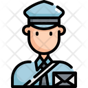 Postman Delivery Letter Icon