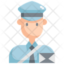Postman Mail Delivery Icon