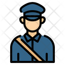 Postman Mailman Courier Icon