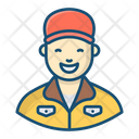 Postman Mailman Mail Carrier Icon