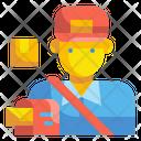 Postman Mail Mailman Icon