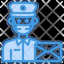 Postman Mail Man Icon