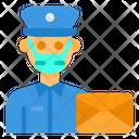 Postman Avatar Mask Icon