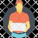 Postman Mailman Delivery Icon