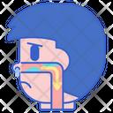 Postnasal Drip Drip Nose Icon