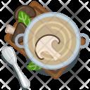 Pot Mushroom Restaurant Icon