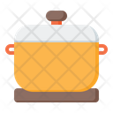 Pot Food Container Cooker Icon