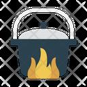 Pot Pan Burner Icon