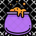 Pot Halloween Poison Icon