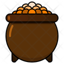 Pot Gold Treasure Icon